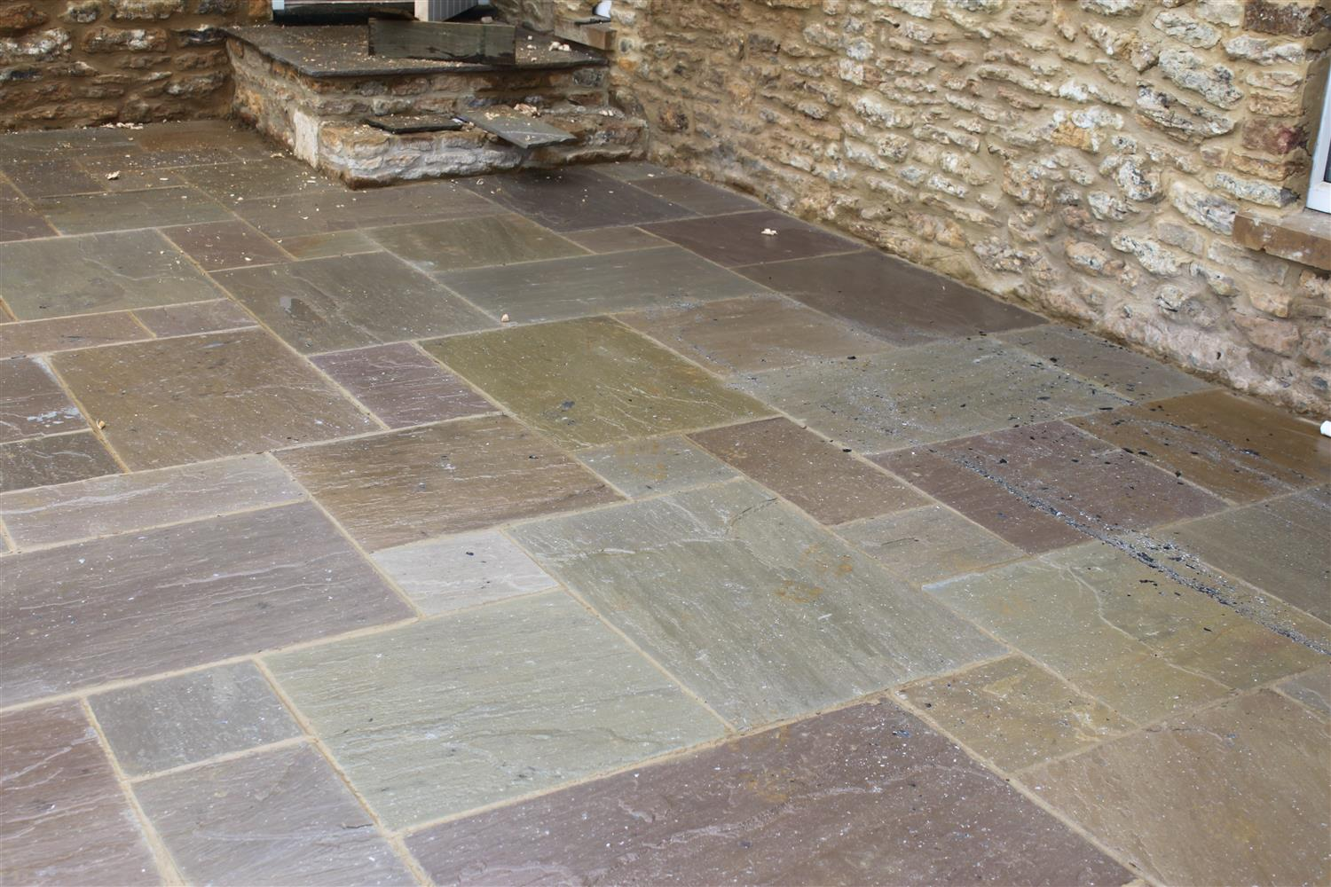 Sandstone hard rock flooring for Hard floor tiles